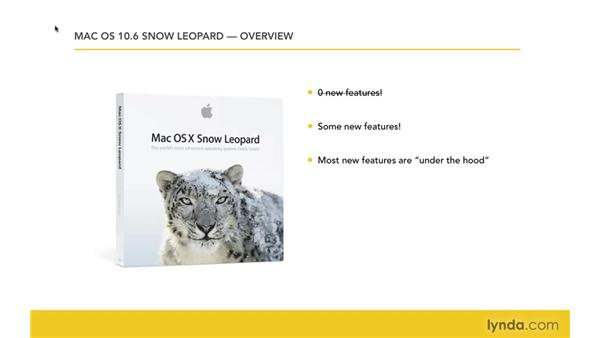 Overview of Snow Leopard: Mac OS X 10.6 Snow Leopard New Features