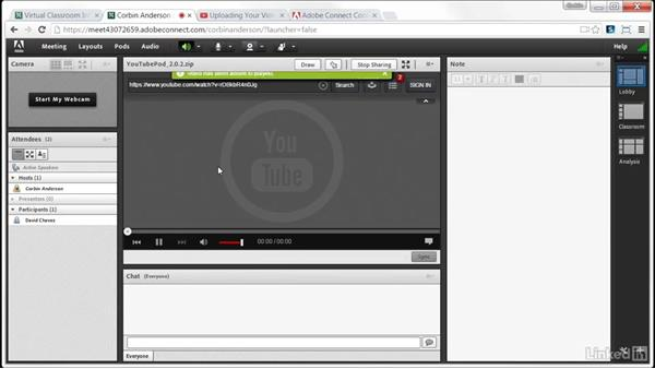 Sharing online video: Virtual Synchronous Training