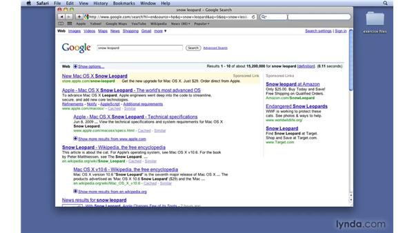 Using Google Suggest: Mac OS X 10.6 Snow Leopard New Features