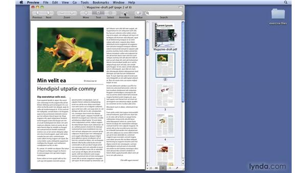 Working with the Annotations toolbar: Mac OS X 10.6 Snow Leopard New Features