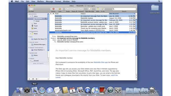 General improvements: Mac OS X 10.6 Snow Leopard New Features