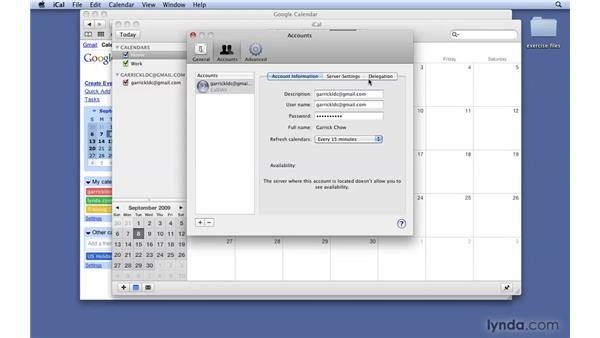 Syncing with Google and Yahoo: Mac OS X 10.6 Snow Leopard New Features