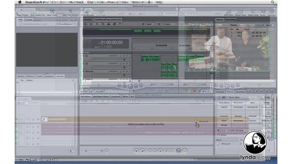 Welcome: Soundtrack Pro 3 Essential Training