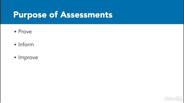 Determine assessment strategy: Assessing Learning in Moodle