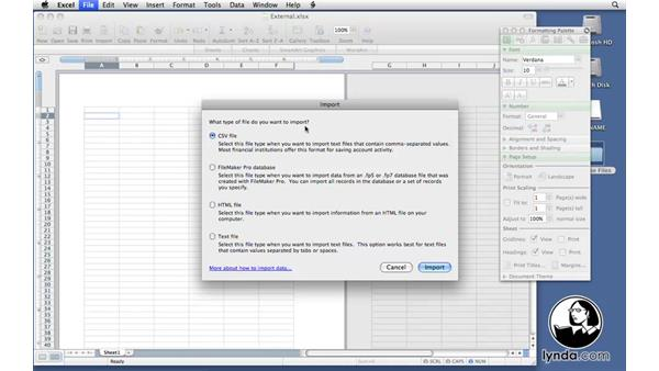 Welcome: Excel 2008 for Mac: Pivot Tables for Data Analysis