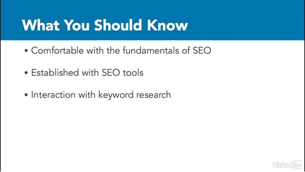 What you should know before watching: Advanced SEO: Search Factors