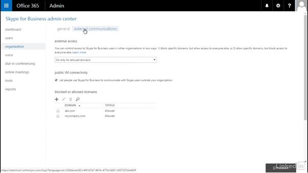 Configure Skype services: Office 365: Configure Exchange Online and Skype for Business Online for End Users