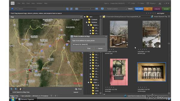 Mapping photos: Photoshop Elements 8 for Windows Essential Training