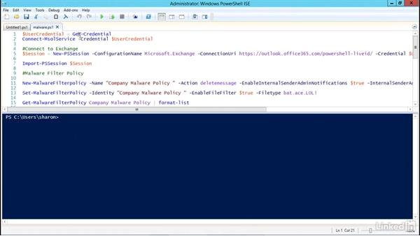 Malware and how to create antimalware policies: Office 365: Plan for Exchange Online and Skype for Business Online