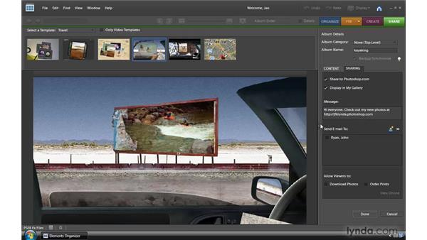 : Photoshop Elements 8 for Windows Essential Training