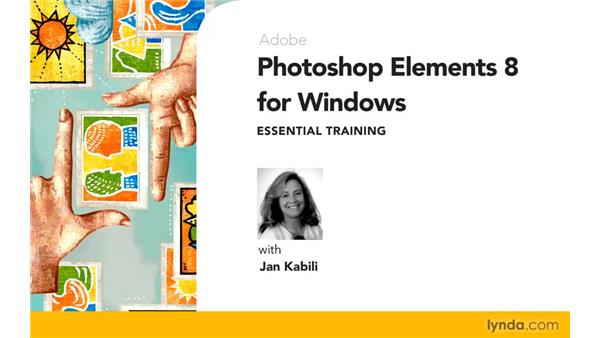 Goodbye: Photoshop Elements 8 for Windows Essential Training