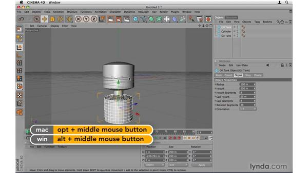 Modeling the robot head and body: After Effects Project Workflow