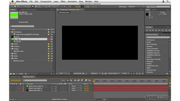 Finding the comp midpoint: After Effects Project Workflow