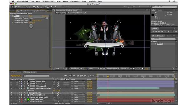 Increasing efficiency with the Mirror effect: After Effects Project Workflow