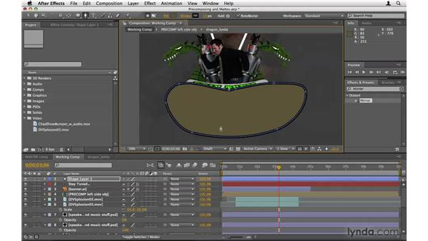 Masking with precomposing and mattes: After Effects Project Workflow