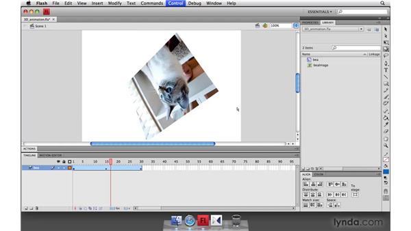 Building 3D animation in Flash CS4: Flash Player 10 New Features