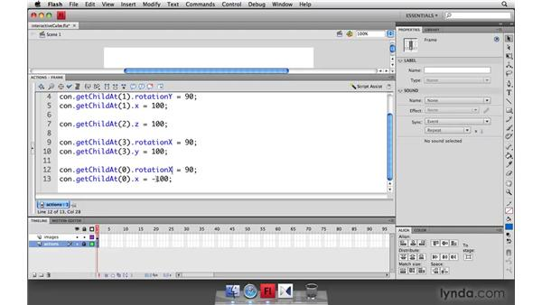 Creating an interactive 3D cube: Flash Player 10 New Features