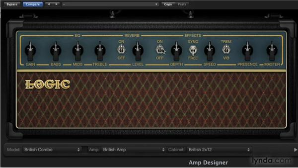 Adding effects and reverb: Logic Pro 9 New Features