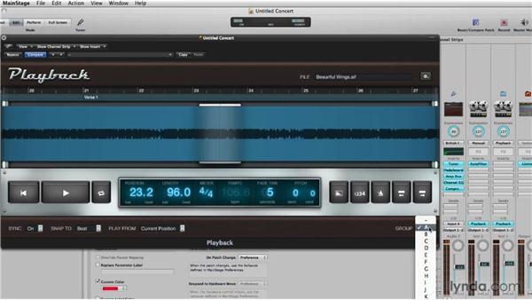 Using the Snap feature with playback: Logic Pro 9 New Features