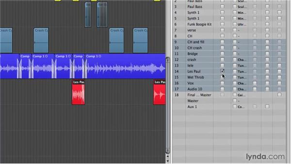 Importing data from other projects: Logic Pro 9 New Features