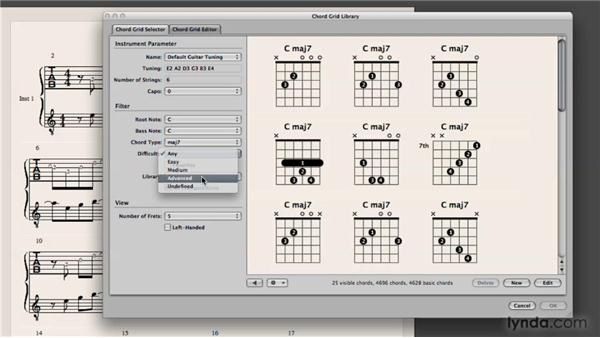 Creating guitar tablature: Logic Pro 9 New Features