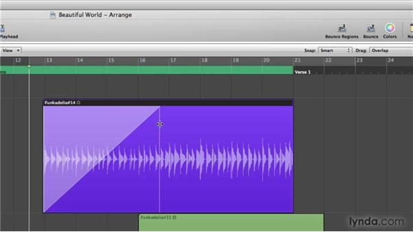 New Pointer tool behavior: Logic Pro 9 New Features