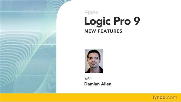 Goodbye: Logic Pro 9 New Features