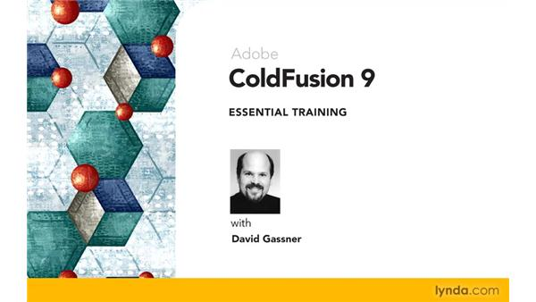 Goodbye: ColdFusion 9 Essential Training