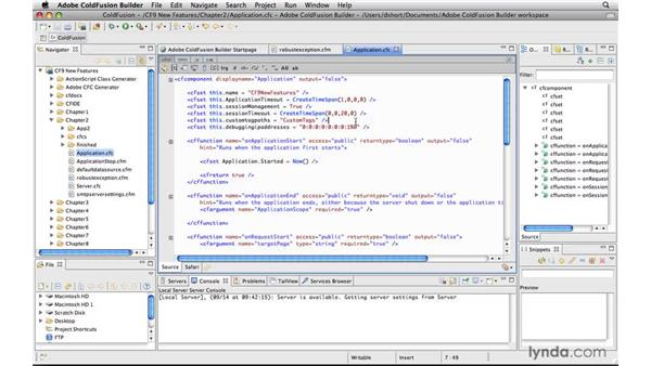 Getting programmatic debugging and exception handling: ColdFusion 9 New Features