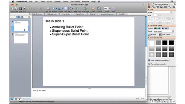 Working with PowerPoint presentations: ColdFusion 9 New Features