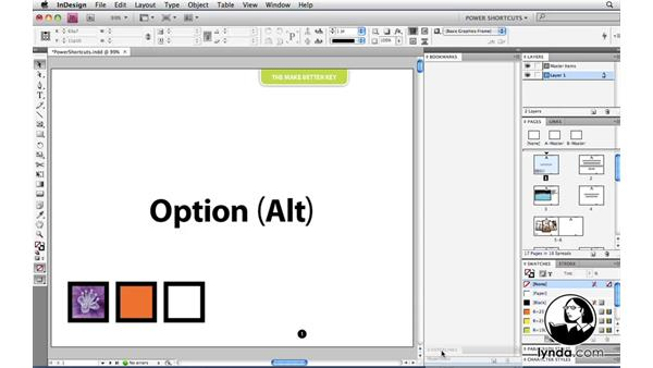 Welcome: InDesign CS4 Power Shortcuts