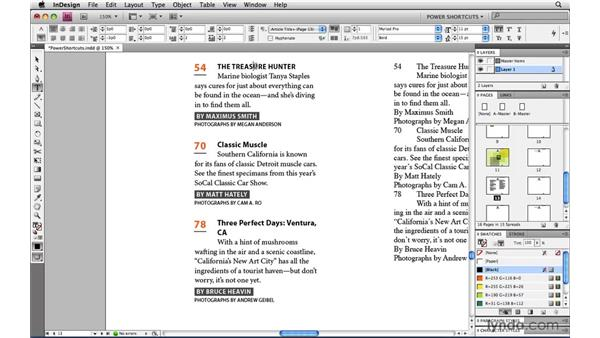 Redefine Style: InDesign CS4 Power Shortcuts