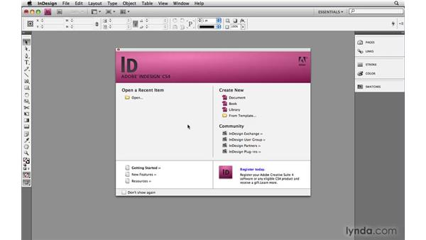 Changing the default settings: InDesign CS4 Power Shortcuts