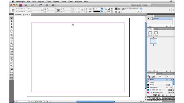 Viewing menus in alphabetical order: InDesign CS4 Power Shortcuts