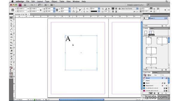 Scrolling one spread at a time: InDesign CS4 Power Shortcuts