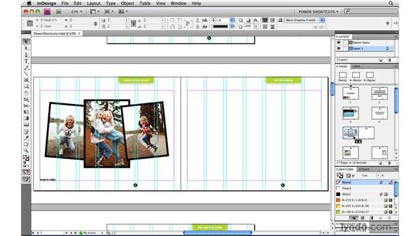 Fitting the entire Pasteboard in the window: InDesign CS4 Power Shortcuts