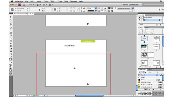 Using Power Zoom: InDesign CS4 Power Shortcuts