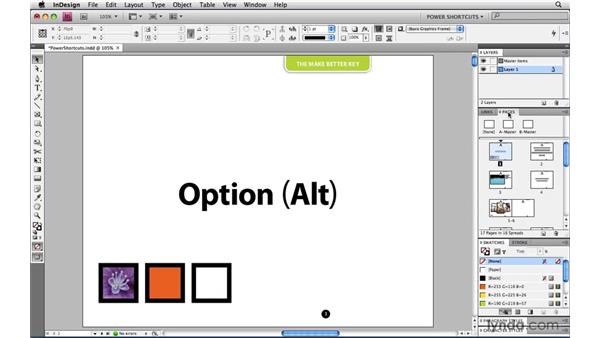 Panel management options: InDesign CS4 Power Shortcuts