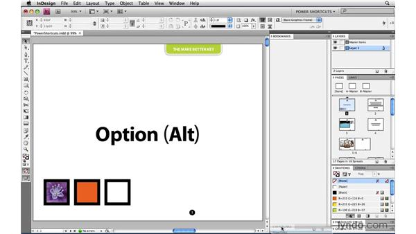 Using multiple panel docks: InDesign CS4 Power Shortcuts