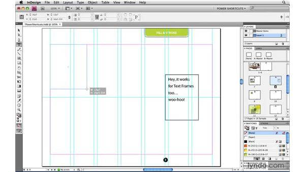 Repositioning while creating page items: InDesign CS4 Power Shortcuts