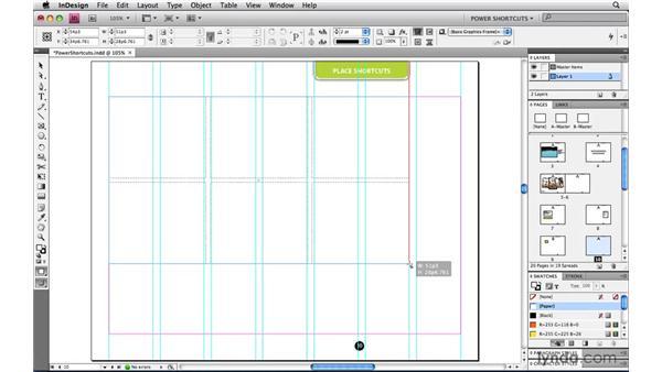 Adjusting Grid Place spacing: InDesign CS4 Power Shortcuts