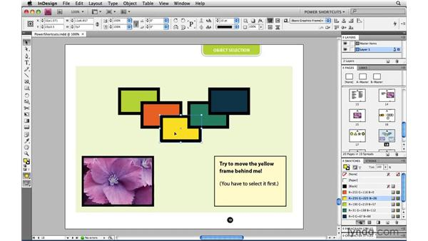 What does Lock mean in InDesign?: InDesign CS4 Power Shortcuts