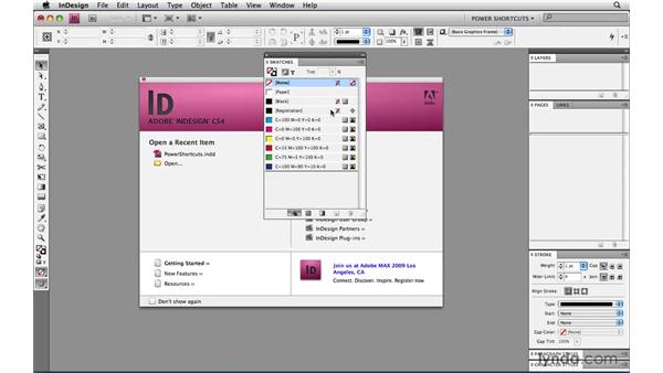 Preventing accidental registration: InDesign CS4 Power Shortcuts