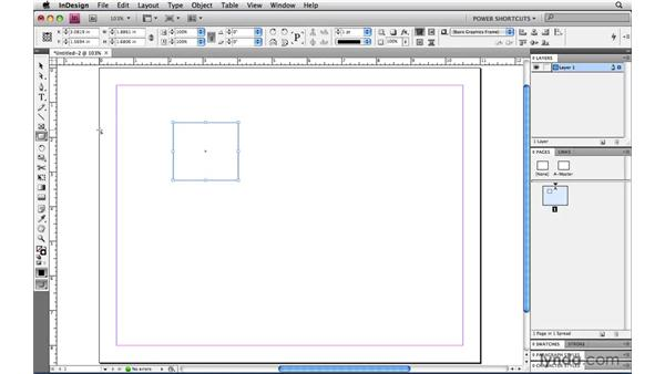 Changing the ruler origin point: InDesign CS4 Power Shortcuts
