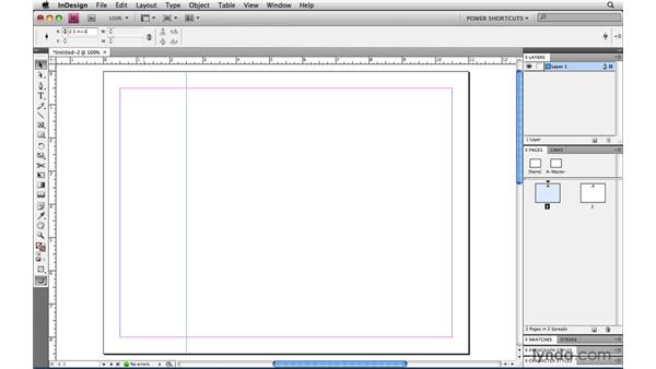 Duplicating and moving guides with the Control panel: InDesign CS4 Power Shortcuts