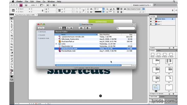 Reduce file size!: InDesign CS4 Power Shortcuts