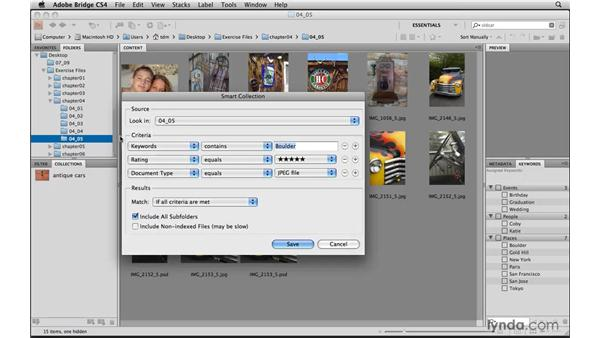 Organizing photos in Collections: Photoshop Elements 8 for Mac Essential Training
