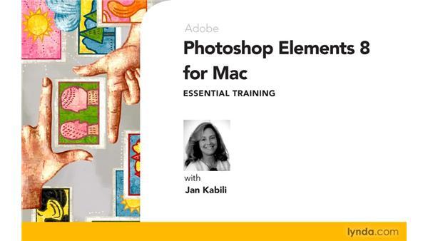 Goodbye: Photoshop Elements 8 for Mac Essential Training