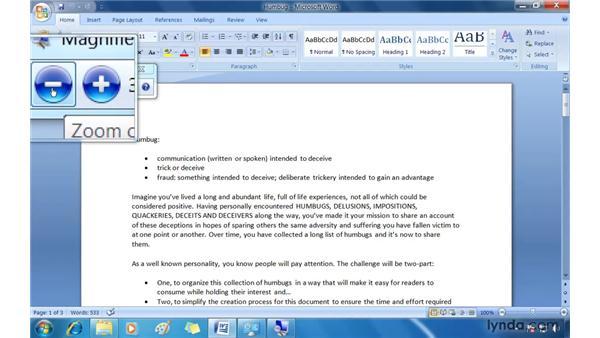 Exploring accessibility options: Windows 7 Essential Training