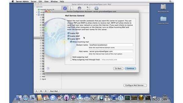 Setting up Mail: Mac OS X Server 10.6 Snow Leopard New Features